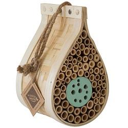 Bijenhotel insectenhotel voor bijen Luxe design - Druppelvormig