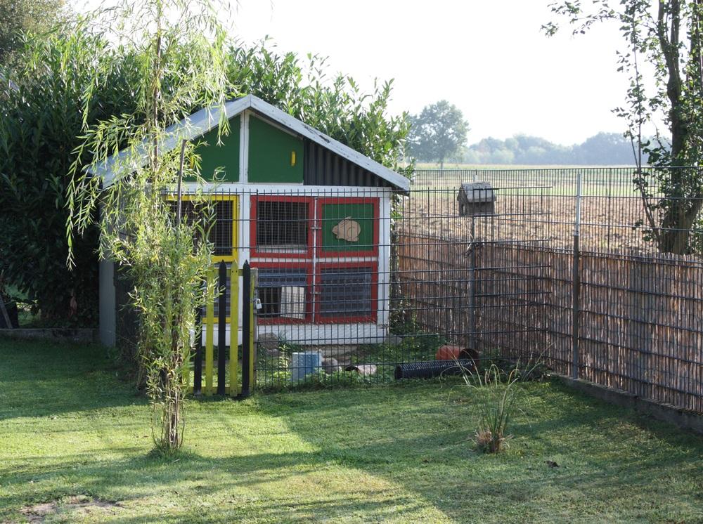 konijnenhok bouwen
