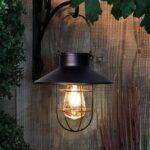 4. Enjoythesun.nl - Retro solar hanglamp zwart
