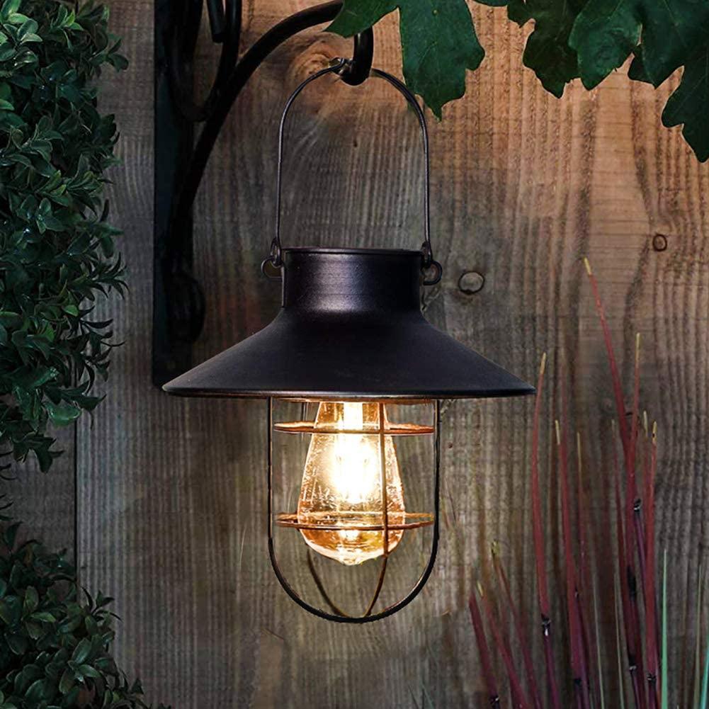 retro solar hanglamp zwart